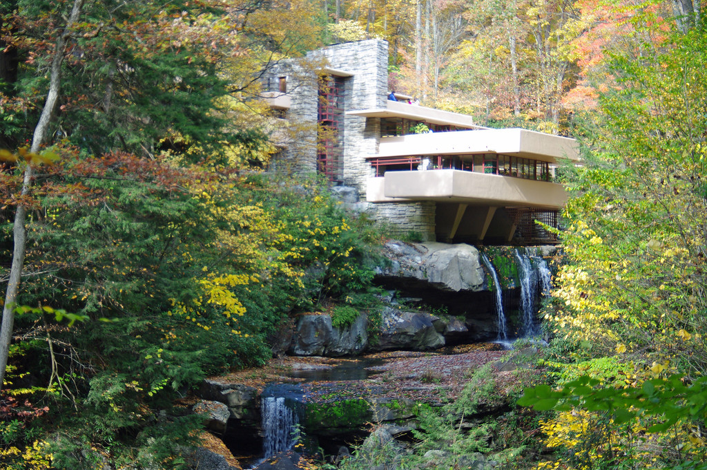 Frank Lloyd Wright's Fallingwater and Kentuck Knob