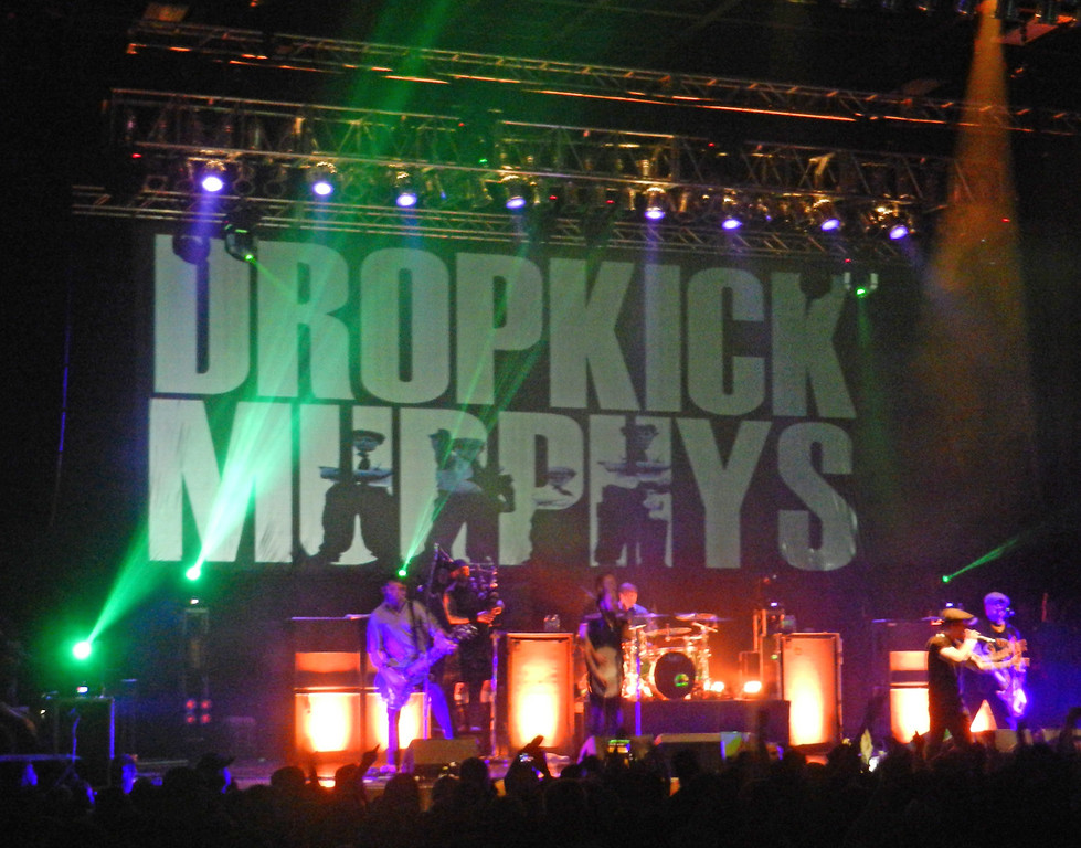Dropkick Murphys, Stage AE, Pittsburgh, March 8, 2014